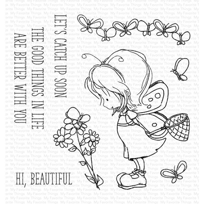 Clear Stamp, Flutterby Friends