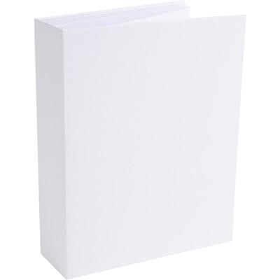 "Foundations 2"" Portrait Album, White"