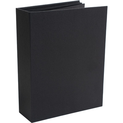 "Foundations 2"" Portrait Album, Black"