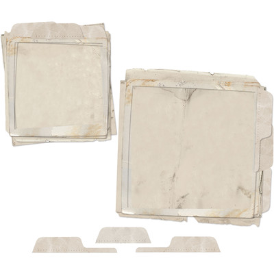 File Frame Set, Vintage Artistry Essentials - Square