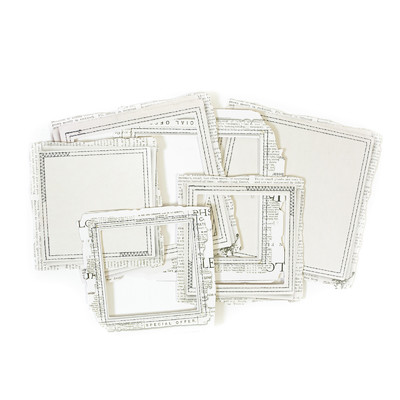 Stitched Frames, Vintage Artistry Essentials - Square
