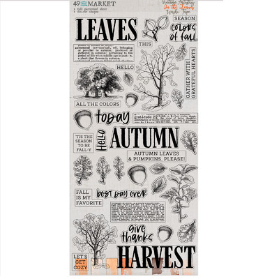 Washi Tape, Vintage Artistry In the Leaves