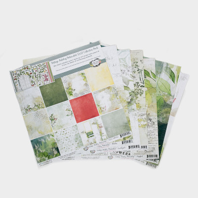 12X12 Collection Pack, Vintage Artistry Naturalist