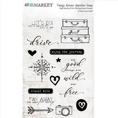 Clear Stamp, Vintage Artistry Anywhere
