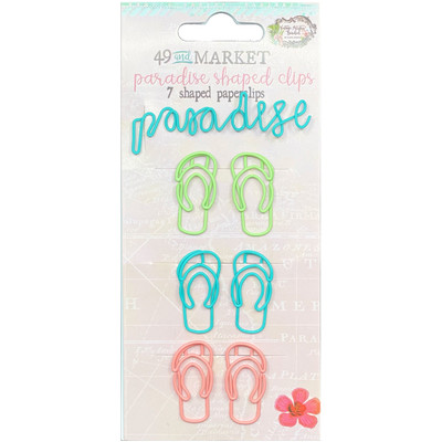 Shaped Clips, Vintage Artistry Beached - Paradise