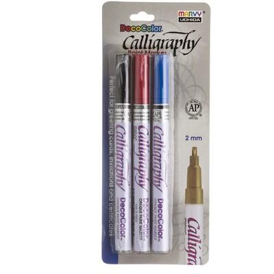 DecoColor Calligraphy Paint Marker Set, B (3pc)