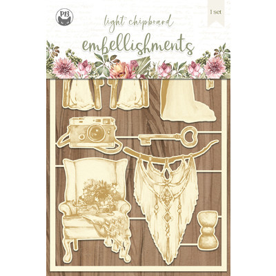 Chipboard Embellishments, Always and Forever 04