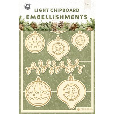 Chipboard Embellishments, Cosy Winter 02