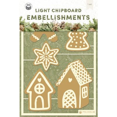 Chipboard Embellishments, Cosy Winter 03