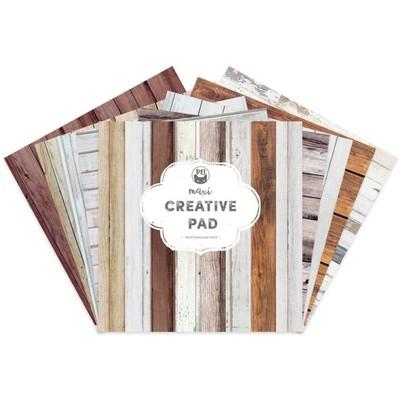 12X12 Maxi Creative Pad, Wood