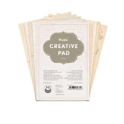 4X6 Mini Creative Pad, Letters