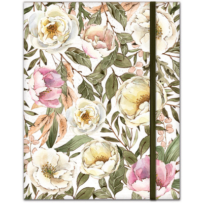 High Quality Notebook, Flowers