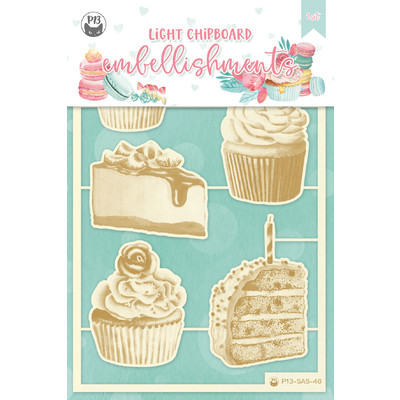 Chipboard Embellishments, Sugar and Spice 03