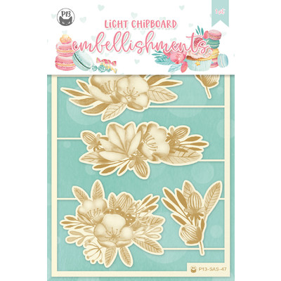 Chipboard Embellishments, Sugar and Spice 04