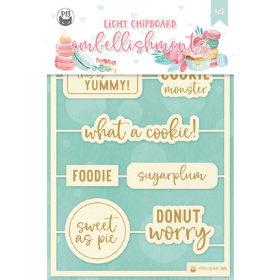Chipboard Embellishments, Sugar and Spice 07