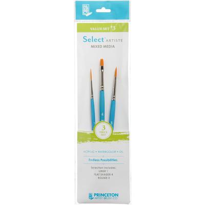 Select Artiste Short-Handle Brush Value Set, #03 (3 Piece)