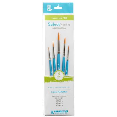 Select Artiste Short-Handle Brush Value Set, #10 (5 Piece)