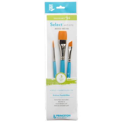 Select Artiste Short-Handle Brush Value Set, #14 (3 Piece)