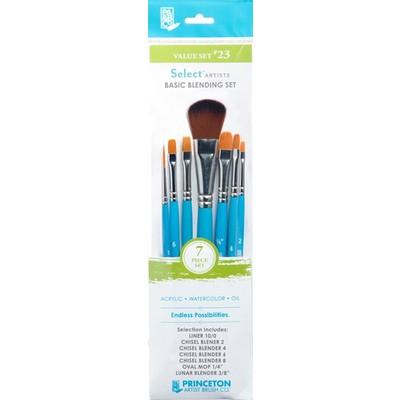 Select Artiste Short-Handle Brush Value Set, #23 (7 Piece)