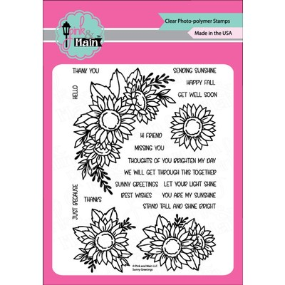 Clear Stamp, Sunny Greetings