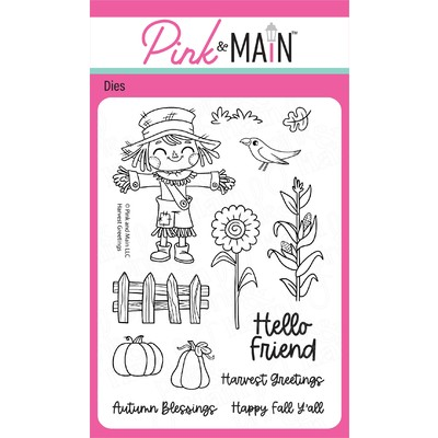 Clear Stamp, Harvest Greetings