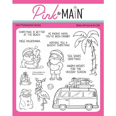 Clear Stamp, Beachy Christmas