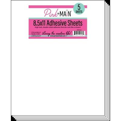 8.5X11 Adhesive Sheets (5 Sheets)