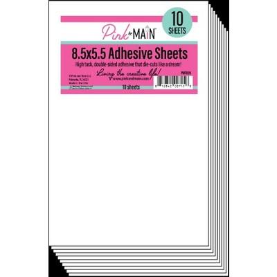 8.5X5.5 Adhesive Sheets (10 Sheets)