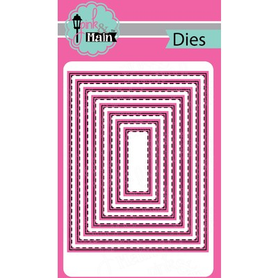 Die, Stitched Rectangles Set 1