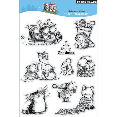 Clear Stamp, Christmas Critters