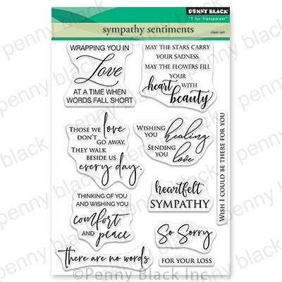 Clear Stamp, Sympathy Sentiments