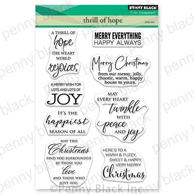 Clear Stamp, Thrill Of Hope