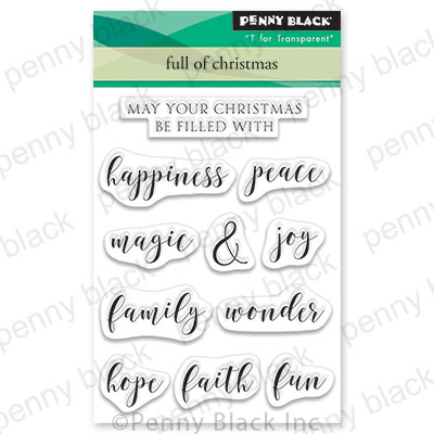 Clear Stamp, Full Of Christmas