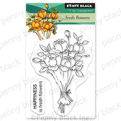 Clear Stamp, ...Fresh Flowers