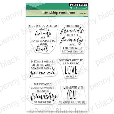 Clear Stamp, Friendship Sentiments