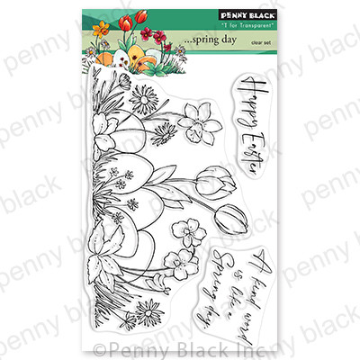 Clear Stamp, Spring Day