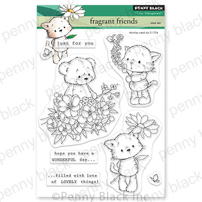 Clear Stamp, Fragrant Friends