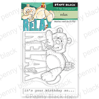 Clear Stamp, Relax