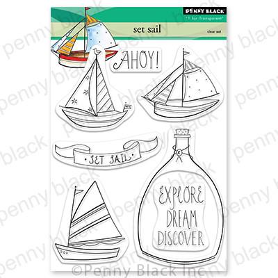 Clear Stamp, Set Sail