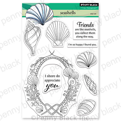 Clear Stamp, Seashells