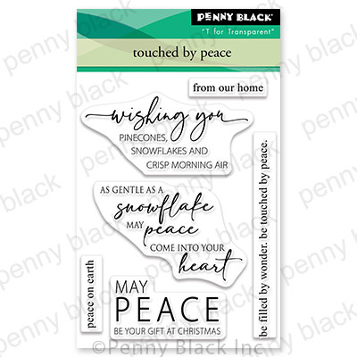 Clear Stamp, Touched By Peace