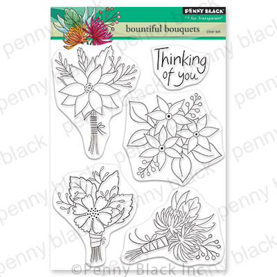 Clear Stamp, Beautiful Bouquets