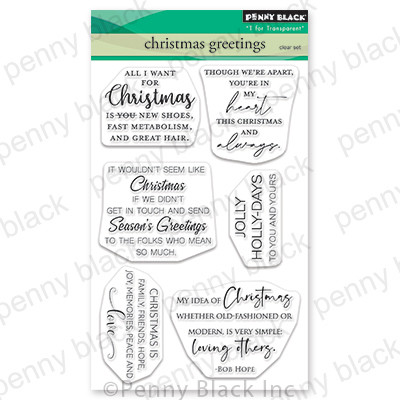 Clear Stamp, Christmas Greetings