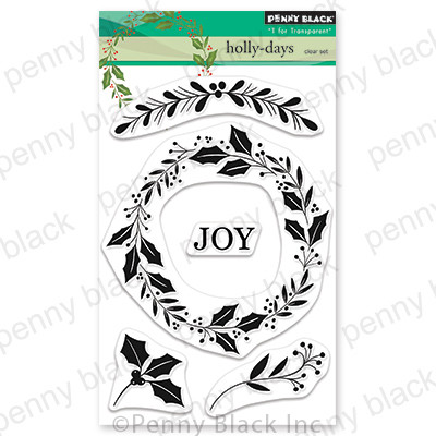 Clear Stamp, Holly-Days