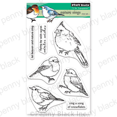 Clear Stamp, Nature Sings