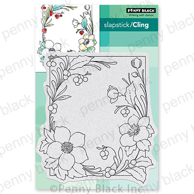 Cling Stamp, Winter Blooms