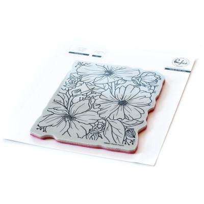 Cling Stamp, Floral Focus