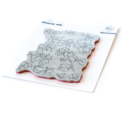 Cling Stamp, Bougainvillea Print