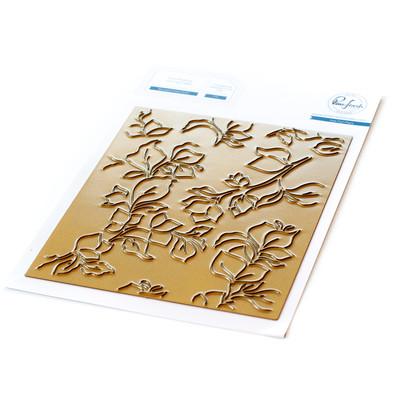 Hot Foil Plate, Bougainvillea Print