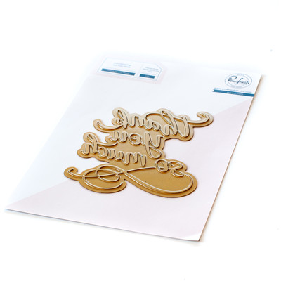 Hot Foil Plate, Thank You So Much